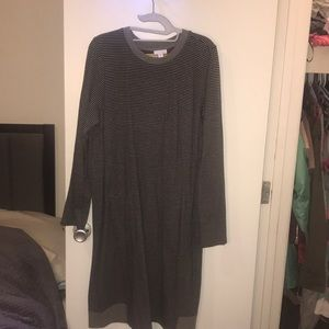 Never worn J Jill large oversized sweater dress